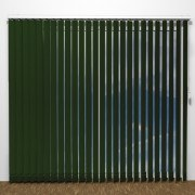 Lamellgardin - LUX Grön - G1004